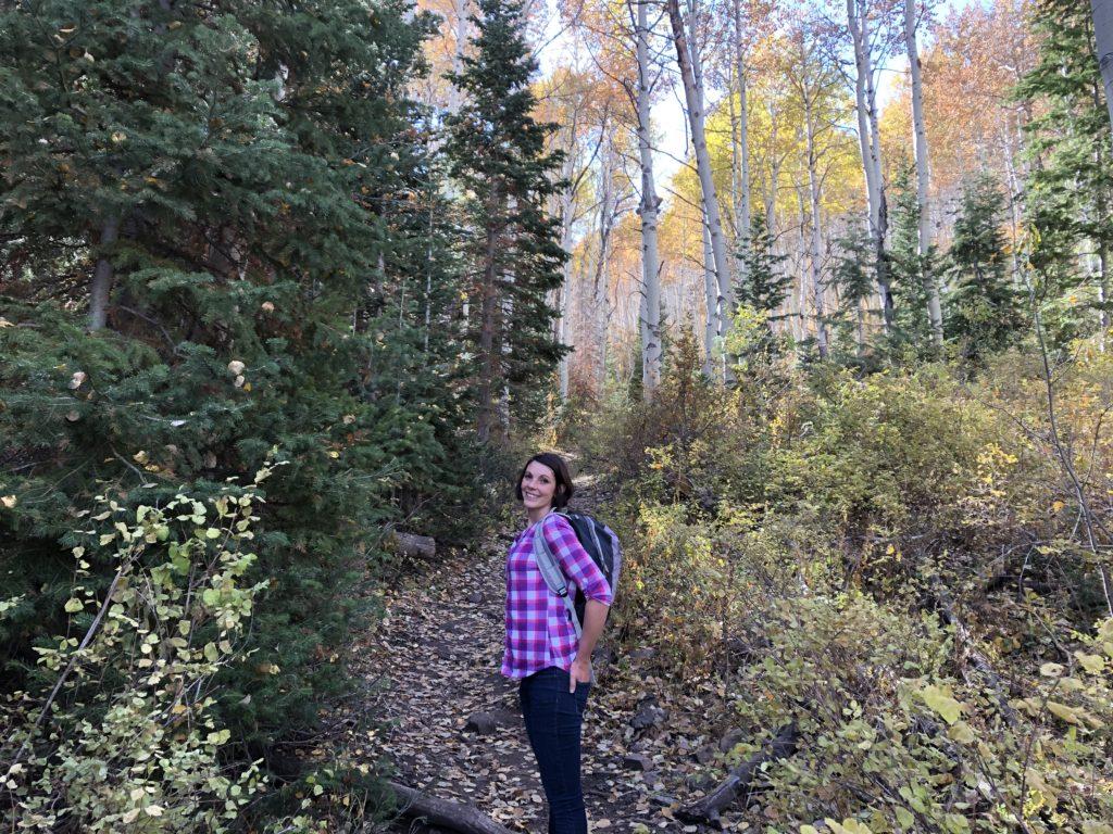 Nicole Hiking